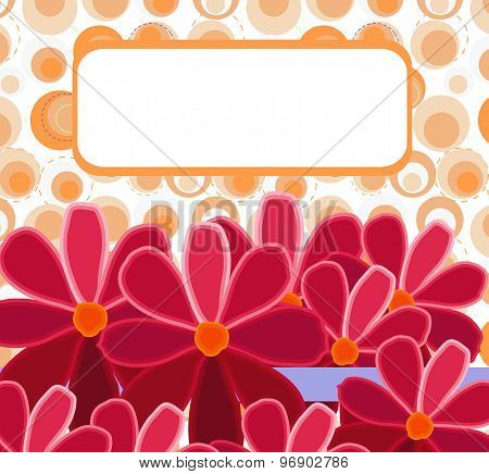 Gift Card With Flowers