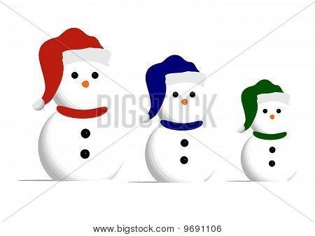 3 Wise Snowmen