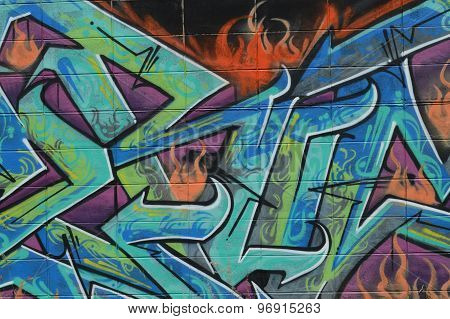 Fire in the Graffiti