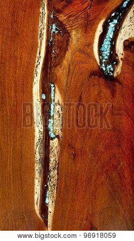 Burled Redwood Background.
