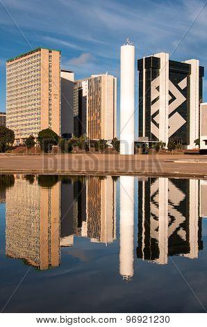 Financial Sector of Brasilia City