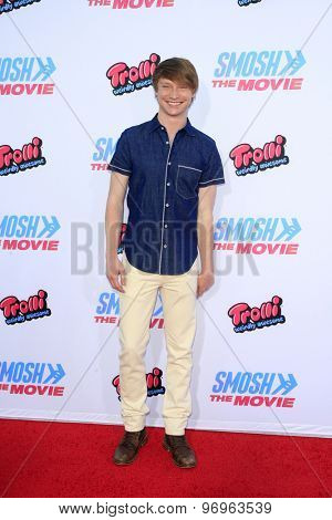 LOS ANGELES - JUL 22:  Calum Worthy at the