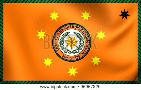 Flag Of Cherokee Nation