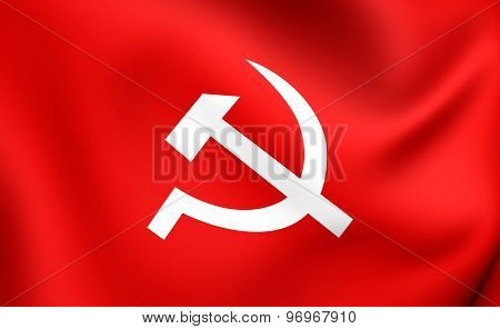 Communist Party Of Nepal Flag
