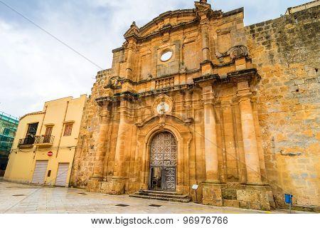 Sant'ignazio Church Ruins In Mazara Del Vallo, Sicily