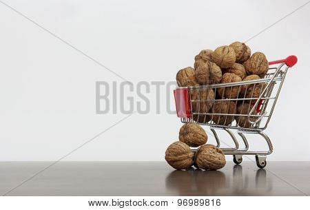 Shopping Basket With Nuts