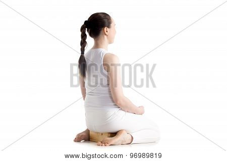 Yoga With Props, Vajrasana Pose