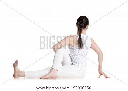 Twisted Yoga Pose