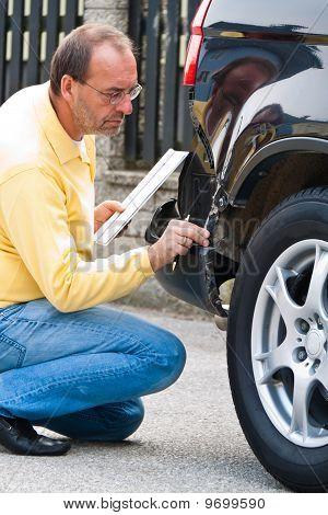 Insurance Claim On The Car.