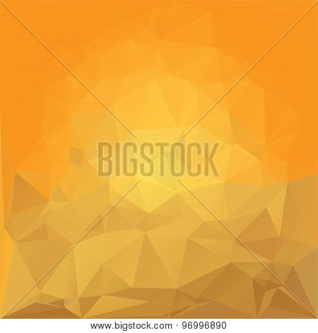 Abstract colorful random crystal background stock vector