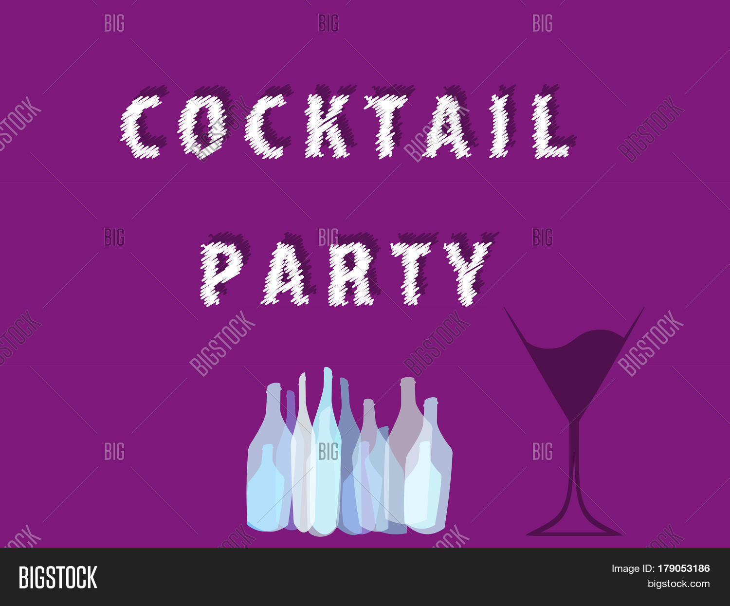 Cocktail Party Vector Vector Photo Free Trial Bigstock