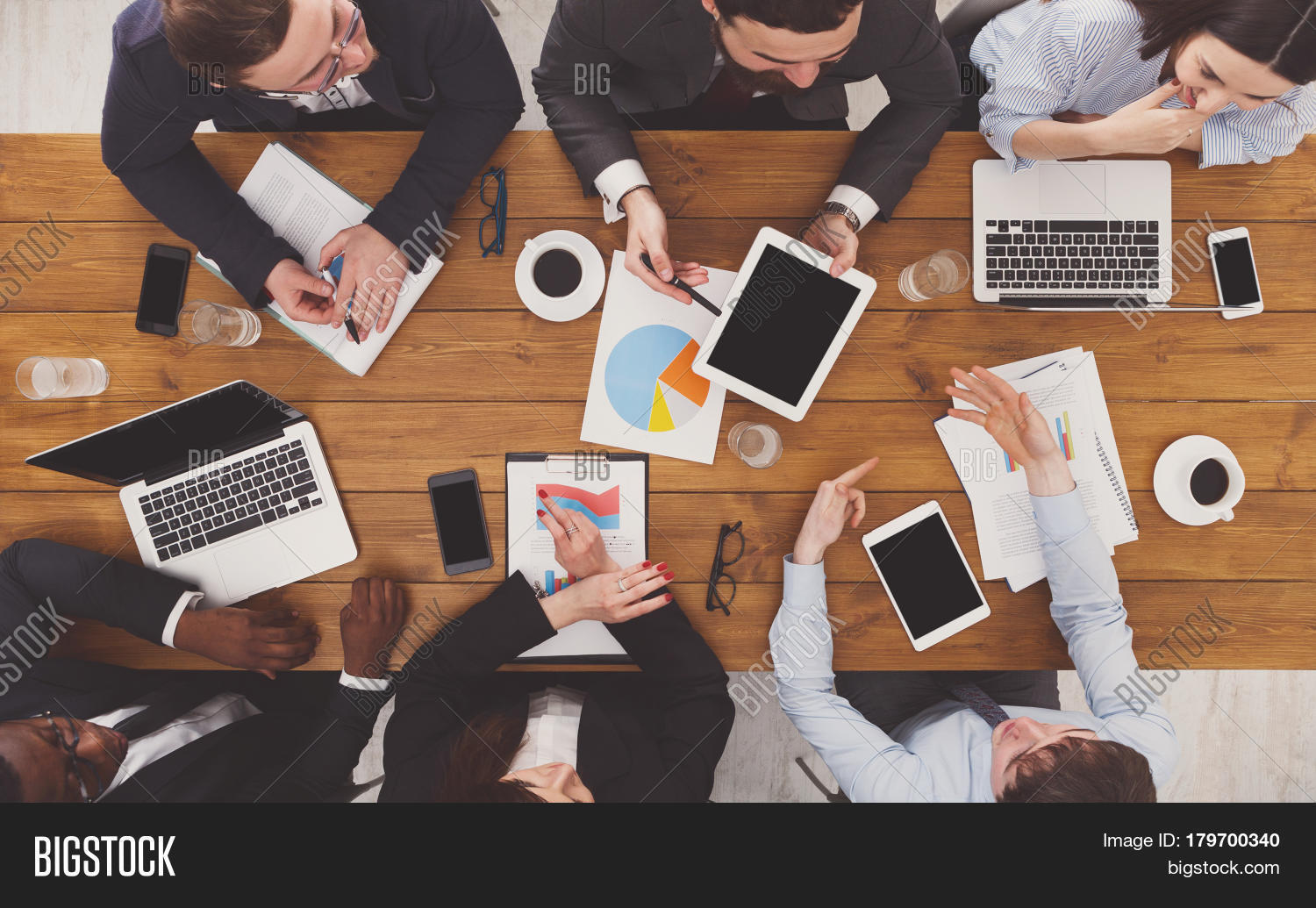 Group Busy Business Image  U0026 Photo  Free Trial