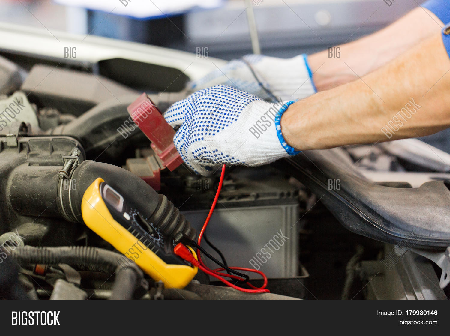 Car Service Repair Image Photo Free Trial Bigstock Multimeter Wiring Maintenance And People Concept Auto Mechanic Man With Digital