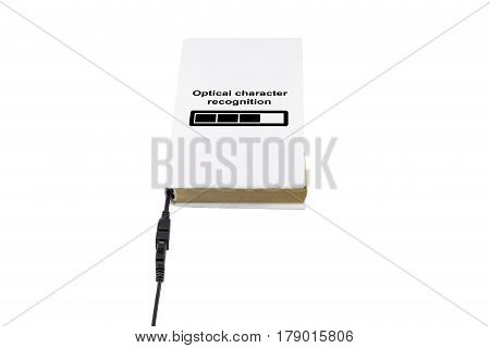 Book Connected To Usb And Ocr
