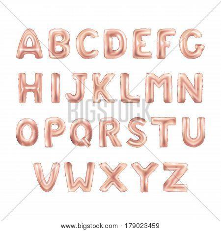 Balloons Abc Alphabet