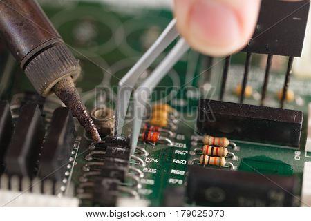 Computer Repair Concept.