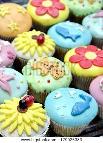 Sweet Food . Cupcakes
