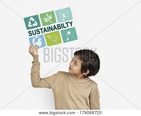 Nature Recycle Sustainability Concept