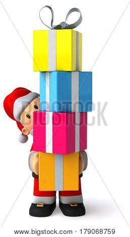 Santa claus - 3D Illustration