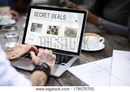 E-Commerce Online Shopping Plant Sale