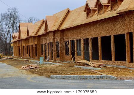 New Houses Being Built In North America