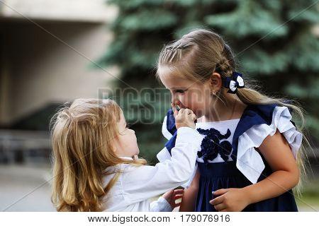 Cute Little Children