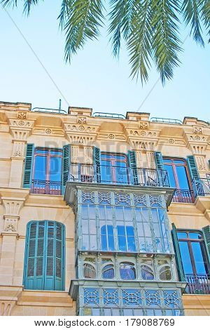 Beautiful Palma Facade