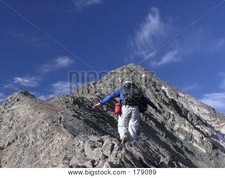 Careful Climber
