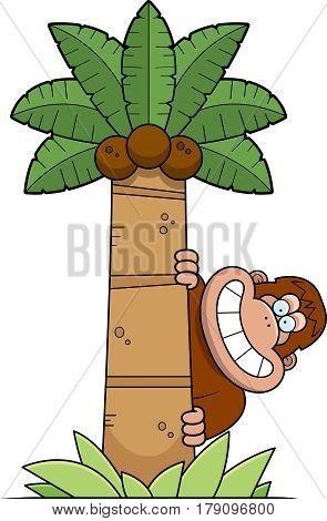 Cartoon Bigfoot Tree