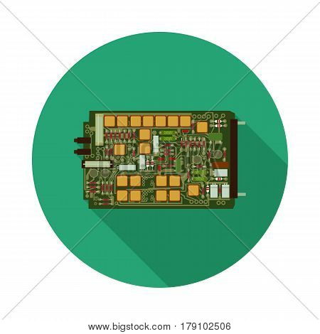 flat icon electronic Board in vector format