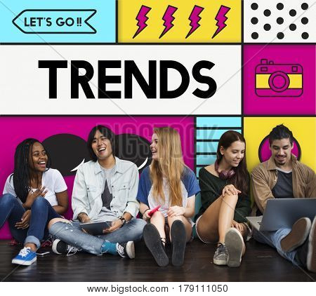 Trends Hipster Youth Lifestyle Carefree Indy