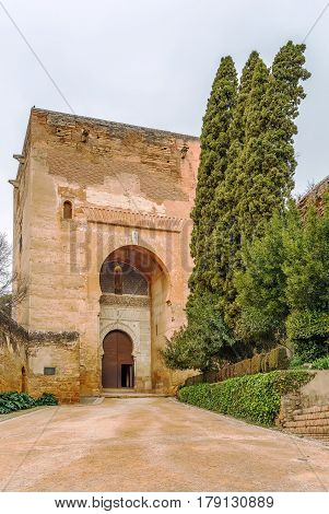 Gate of Justice is largest and most impressive gate in Alhambra was built in 1348 Granada