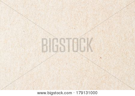 Texture of old organic light cream paper. Recyclable material with small inclusions of cellulose. Background , backdrop, substrate, composition use for design, copy space for text or image