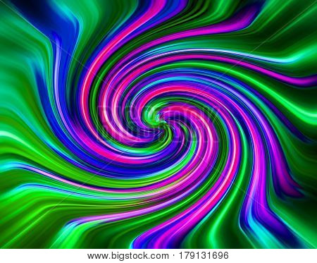 Color Twirl Background