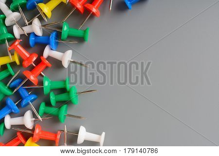 Multicolored Clerical Buttons