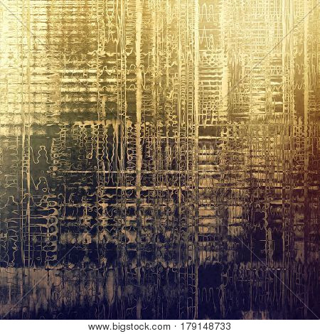 Stylish grunge texture, old damaged background. With different color patterns: yellow (beige); brown; gray; purple (violet)