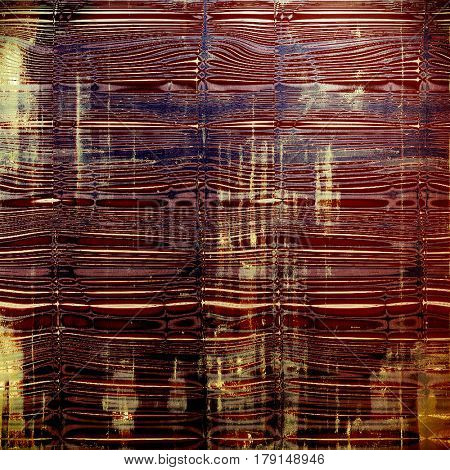Grunge texture in ancient style, aged background with creative decor and different color patterns: yellow (beige); brown; blue; red (orange); purple (violet); pink