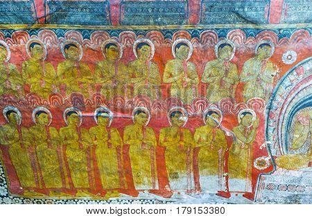 The Pupils Of Buddha