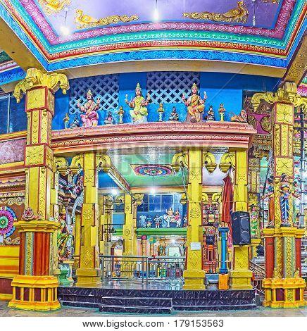 Tamil Hindu Temple In Matale