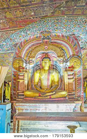 The Lord Buddha In Dragon Arch