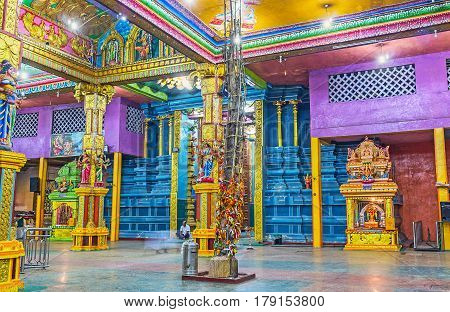 Discover Tamil Hindu Temple In Matale