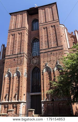 Sights Of Poland. Old Town In Torun On The World Heritage List. Torun - Place Of Birth Nicolaus Cope