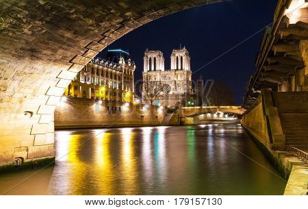 The Notre Dame is historic Catholic cathedral one of the most visited monuments in Paris considered as one of the finest examples of French Gothic architecture