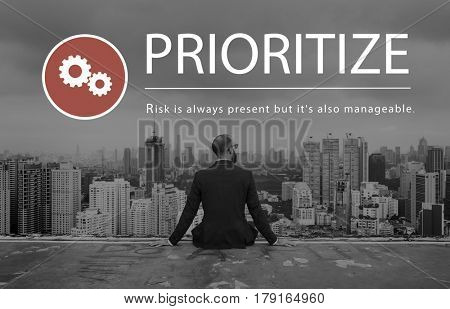 Risk Management Challenge Solution Prioritize poster