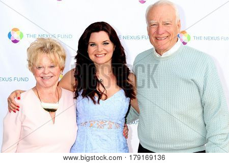 LOS ANGELES - MAR 25:  Marie Tom, Heather Tom, Guest at the Night of Cocktail and Virtual Reality benefiting The Nexus Fund at Private Residence on March 25, 2017 in Glendale, CA
