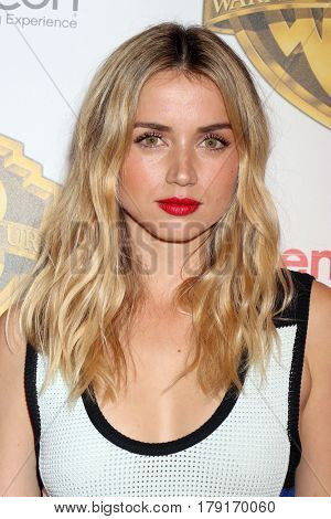 LAS VEGAS - MAR 29:  Ana De Armas at the Warner Bros CinemaCon Photocall at the Caesars Palace on March 29, 2017 in Las Vegas, NV