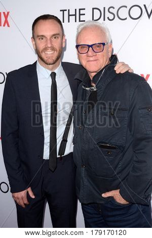 LOS ANGELES - MAR 29:  Charlie McDowell, Malcolm McDowell at the Premiere Of Netflix's