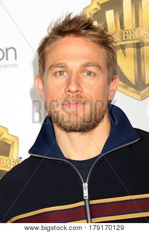 LAS VEGAS - MAR 29:  Charlie Hunnam at the Warner Bros CinemaCon Photocall at the Caesars Palace on March 29, 2017 in Las Vegas, NV