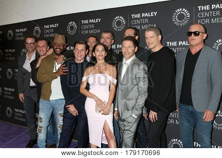 LOS ANGELES - MAR 29:  Prison Break cast at the