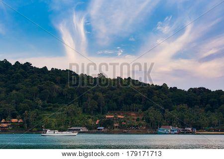 Tropical Landscape Of Koh Chang